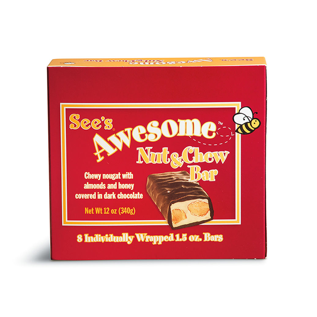 View of See's Awesome® Nut & Chew Bars 2
