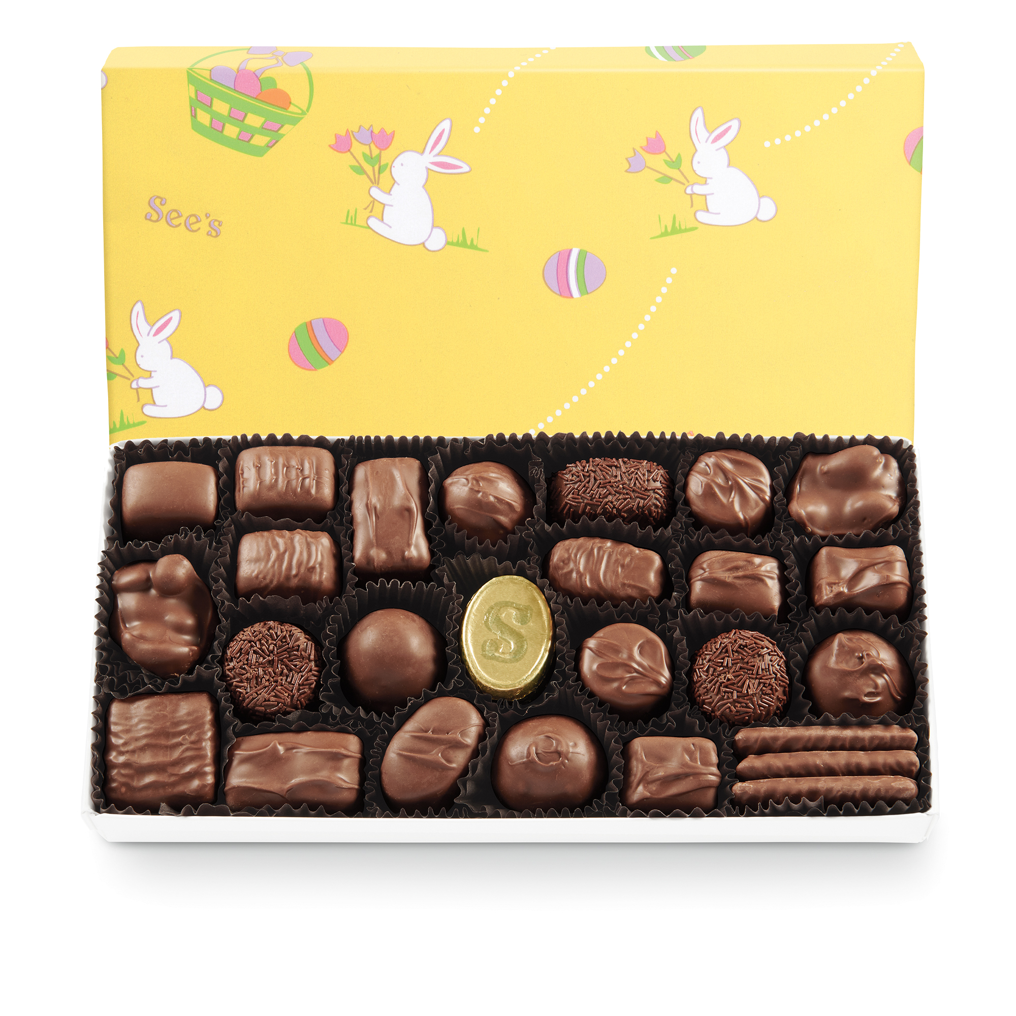 View of Milk Chocolates
